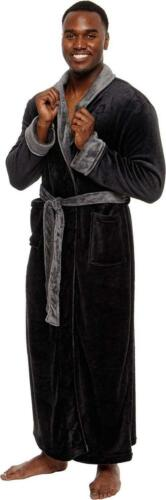 Details about  /Ross Michaels Men/'s Big and Tall Full Length Long Bathrobe House Coat Pajamas