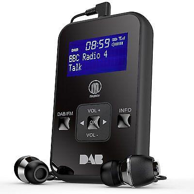 Portable Pocket Personal Handheld DAB Digital DAB FM Radio LCD Display