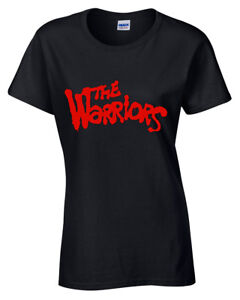 THE-WARRIORS-Womens-T-Shirt-COOL-RETRO-FILM-MOVIE-80-039-S-HIPSTER-CULT-TV-VINTAGE