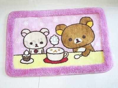 Rilakkuma Relax Bear Bathroom Decor Mat Extra Thick Bath Rug Carpet