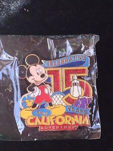 Cast-Exclusive-Celebrating-15-Years-California-Adventure-Disney-Pin-Mickey-NIP