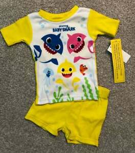 Baby Shark NWT Toddler Boys/Unisex Two-Piece Pajamas Sleepwear 2T
