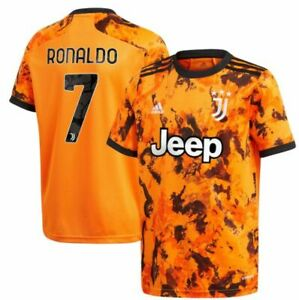 adidas Juventus 2020 - 2021 C. Ronaldo # 7 Away Soccer Jersey CR7 Kids - Youth