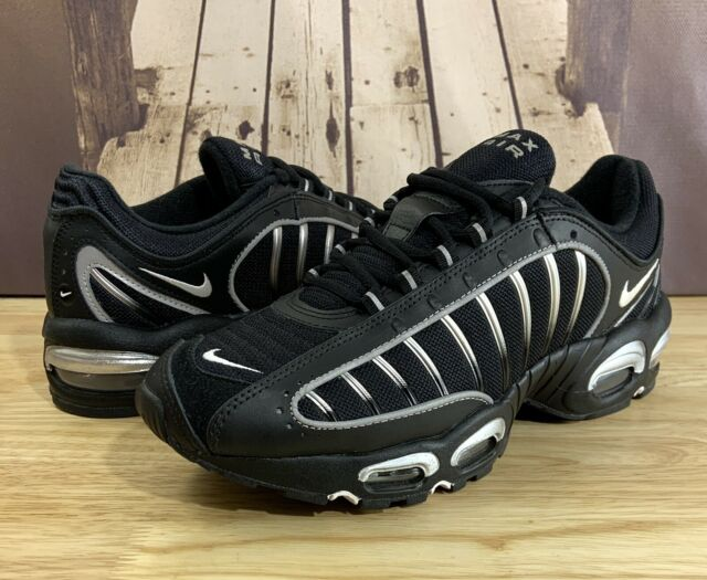 Nike Air Max Tailwind IV (GS) Shoes Black Silver BQ9810-002 Size 5Y / Wmn's 6.5