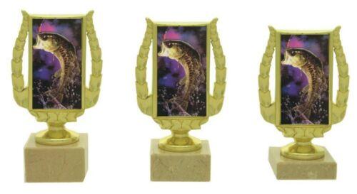 3er Pokalserie Angeln 19-17 cm inkl.Gravur nur 27,95 EUR 633-A