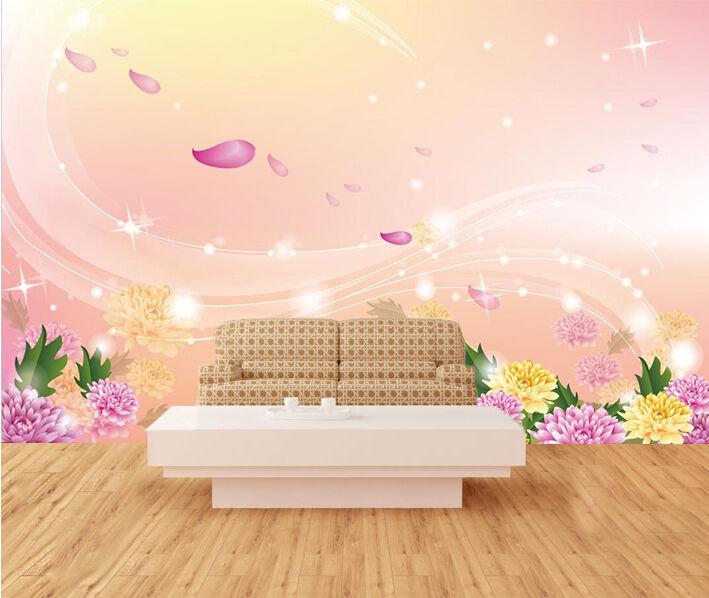 3D Farbeful Flower Petal Art 23 Wall Paper Wall Print Decal Wall AJ WALLPAPER CA