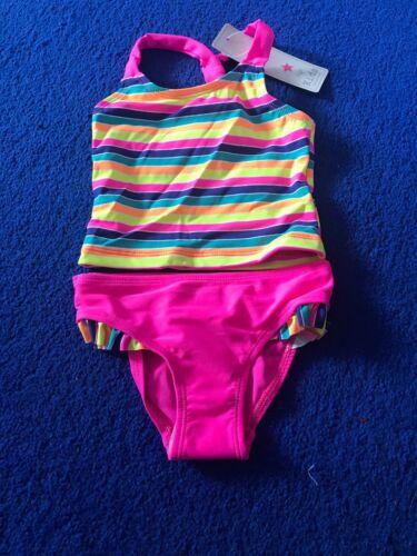 Baby Girls Toddler Kid Swimwear Swimsuit Bikini Set Tankini Beachwear 18-24