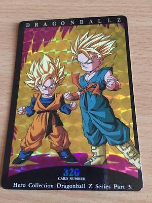 Carte Dragon Ball Z DBZ PP Card Part 26 #1185 Gold AMADA 1995 MADE IN JAPAN