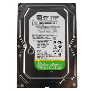 500-GB-WD-Western-Digital-Festplatte-3-5-Zoll-Green-SATA-Computer-PC-intern-32MB