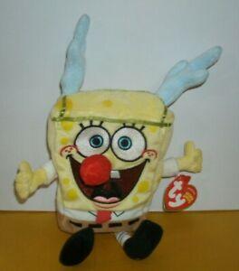 Ty Beanie Babies SpongeBob SleighRide New