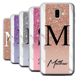 cheap for discount c5b03 422db Details about Personalised Handwritten Glitter Case for Samsung Galaxy J6  Plus 2018/J610