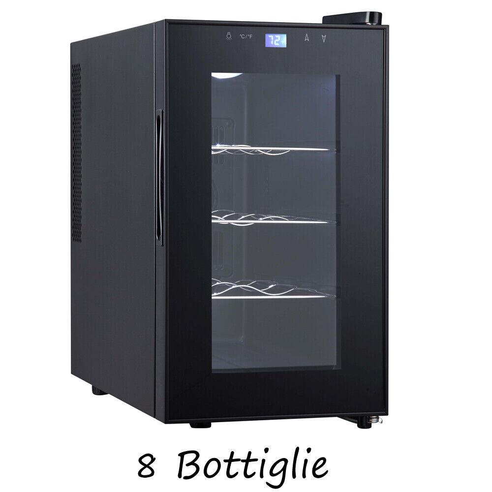 Cantina vino frigorifero 8 bottiglie