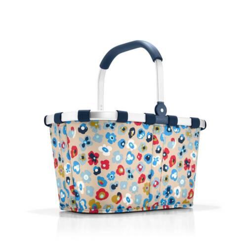 reisenthel carrybag millefleurs BK6038 Blumen 22L Einkaufskorb