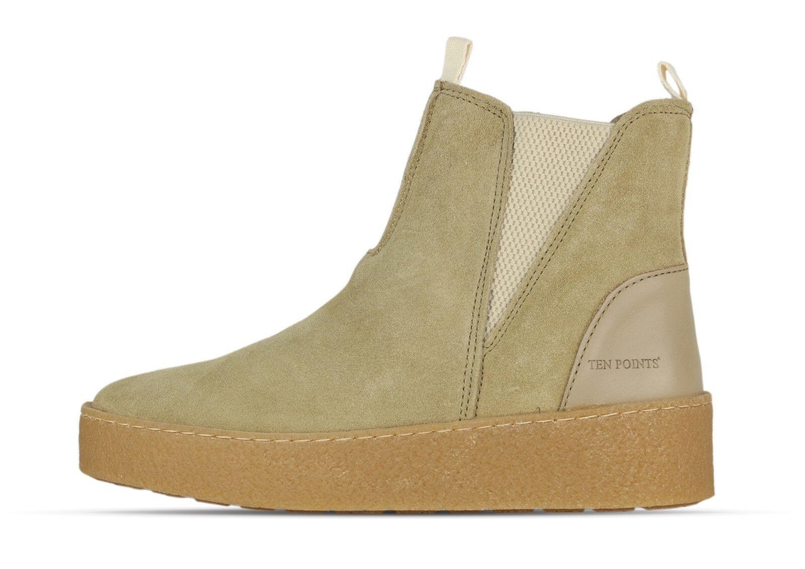 Ten Ten Ten points johanna 264020 Arena 406-mujer-botas-beige + new +  Nuevos productos de artículos novedosos.