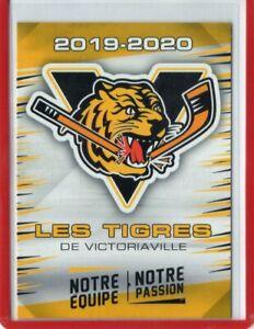 2019-20-VICTORIAVIILLE-TIGRES-QMJHL-Team-Set-Single-Cards-U-Pick