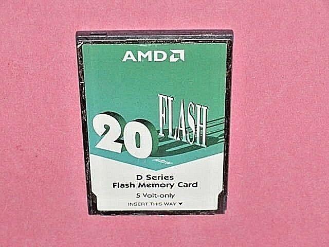 AMD C//D series 8MB 16Bit Linear Memory Flash PCMCIA Card