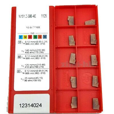 10PCS N151.2-400-4E 235 4mm width carbide insert Cut-off blade cutting insert
