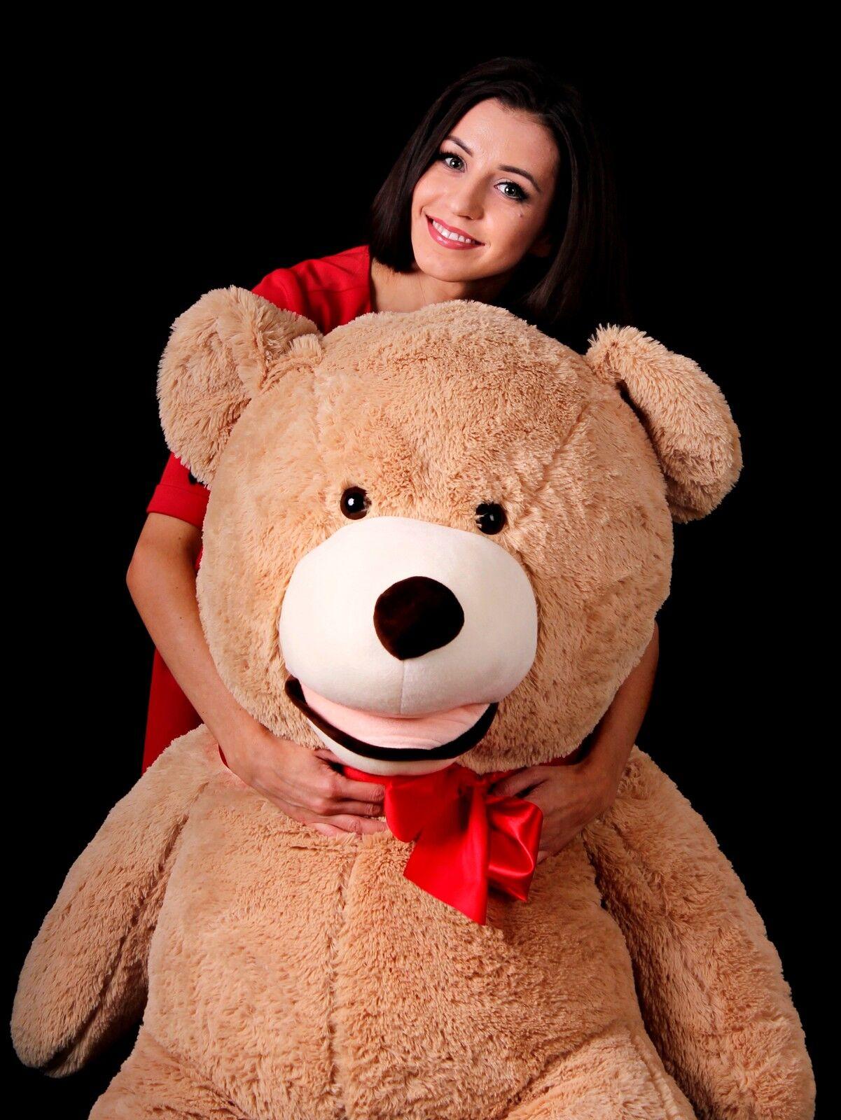 Grand XXL nounours géant Ours en peluche ourson Teddy Bear XXL Grand cadeau pour enfant 7646ee