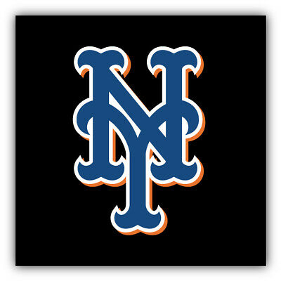 6/'/' or 8/'/' 3/'/' New York Mets MLB Baseball Logo Car Bumper Sticker Decal 5/'/'