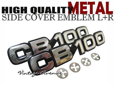 HONDA CB100 CB100K2 K2 SIDE COVER EMBLEM 1PAIR L+R [IP]