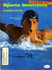 Mark Spitz Jsa Authenticated Signed Si 8X10 Cover Photo Autograph