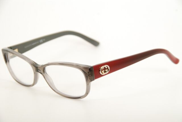 Gucci Eyeglasses 3569 0l53 Red Transparent 52mm | eBay