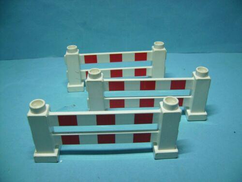 Lego Duplo 3 Bauzäune,Zäune,Absperrung,D2