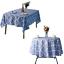 miniature 19 - Imperméable Nappe Home Table de salle à manger Protecteur Rond/Rectangulaire Table Housse
