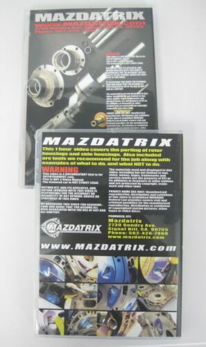 13B RX7 VIDEOS Mazdatrix How To Rebuild and Port your Mazda Rotary Engine