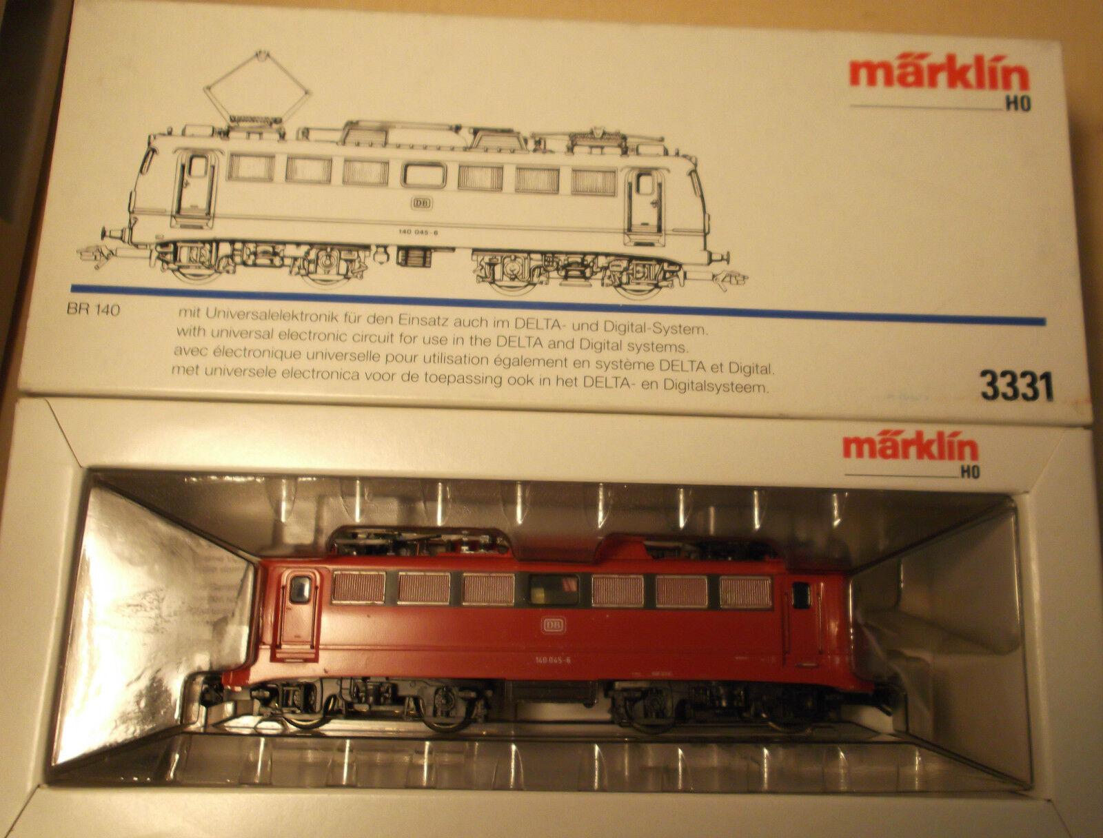 MÄRKLIN MÄRKLIN MÄRKLIN H0 3331 Elektrolokomotive Baureihe 140 der DB mit Universalelektronik  | Hohe Qualität  925b6c