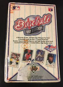 UPPER-DECK-1991-EDITION-BASEBALL-CARD-BOX-OF-36-PACKS