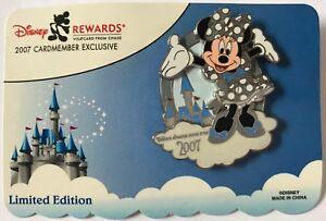 Disney-039-s-Rewards-Visa-Cardmember-Pin-2007-Minnie-Mouse-Pin