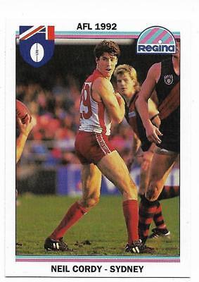 1992 Regina 16 Neil Cordy Sydney
