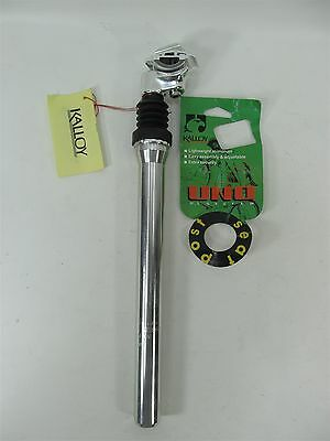 SYSTEM SUSPENSION SEAT POST 27.2mm 350mm SIL SEATPOST KALLOY BICYCLE U.L