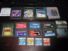 LOT OF 16 ~ NINTENDO GAME BOY / COLOR / ADVANCE / DS GAMES