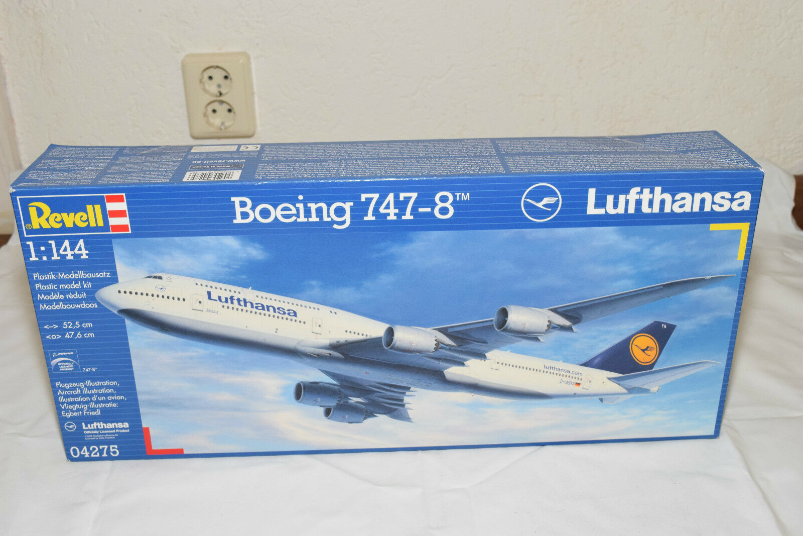 REVELL KIT 4275 BOEING 747 8 747-8 LUFTHANSA MINT SEALED BOXED RARE SELTEN