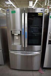 "LG LFXS28596S 36"" Stainless Smart French Door Refrigerator NOB #107506"