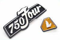 Honda Left Side Cover Emblem Set 72-76 Cb750 K 750 Four Badges Z18
