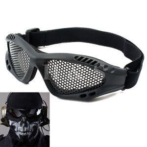 Top qualité tactique militaire treillis métallique lunettes lunettes de Tir Airsoft Masque-afficher le titre d`origine 02uwmoxZ-07164041-786890516