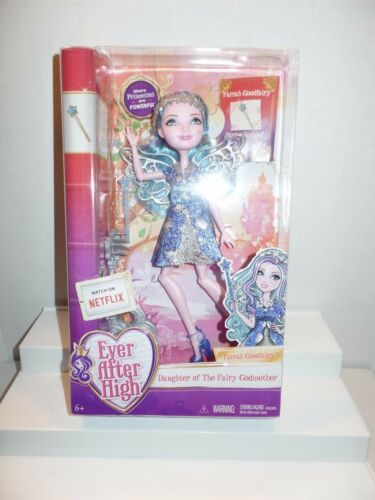 NEW SEALED 2015 Ever After High EAH Doll Farrah Goodfairy with Story & Stand