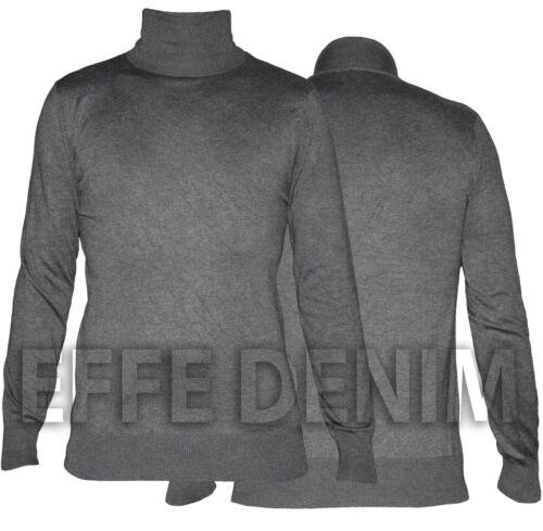 Maglia Collo Alto Uomo Dolcevita Maglione Pullover Casual Slim Nuovo 325