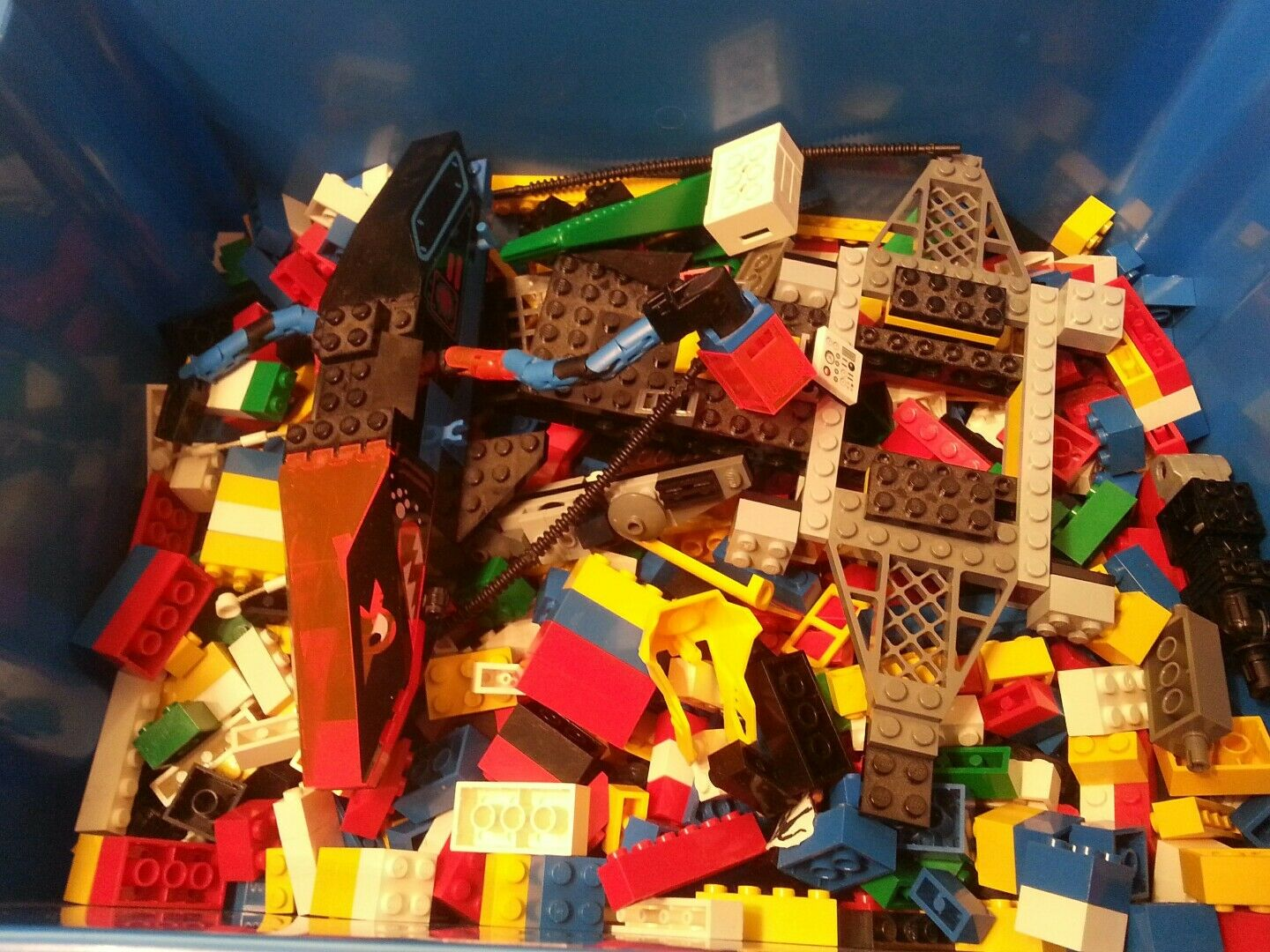 Bulk Lot of 5 Pounds lbs LEGO pieces Star Wars City Ninjago Space vintage system
