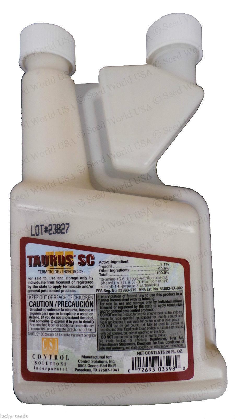 Taurus SC Termiticide insecticida - 20 OZ (Termidor Sc alternativa)