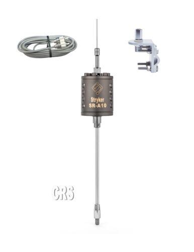 18ft Belden Coax Bracket /& Stud Stryker SR-A-10 CB//10 meter Radio Antenna