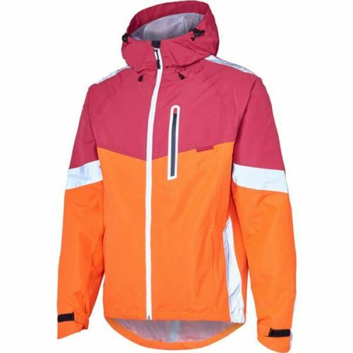chilli red Madison Prime men/'s waterproof jacket burgundy small