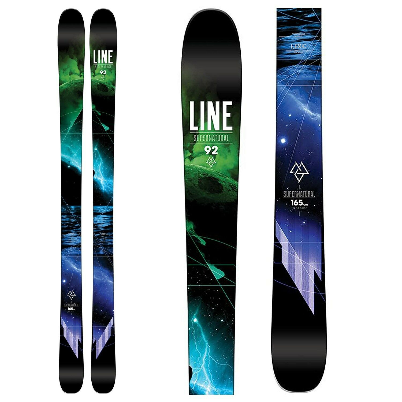 NEW 2016 Line Supernatural 92 Skis - 172 cm