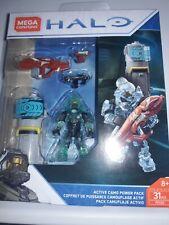Halo Mega Construx Set #DXF10 Covenant AC Brute Captain with Gravity Hammer