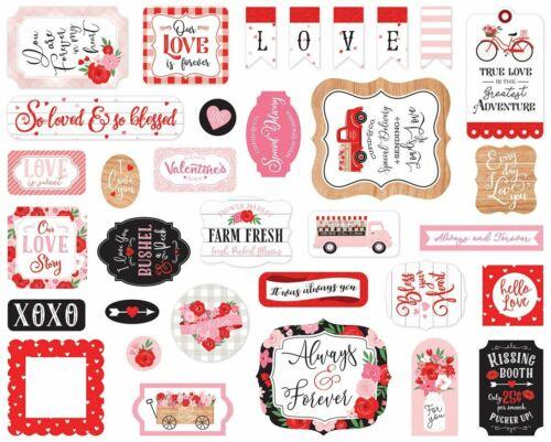 Echo Park Cardstock Ephemera 33//Pkg-Icons Cupid /& Co -UP227024
