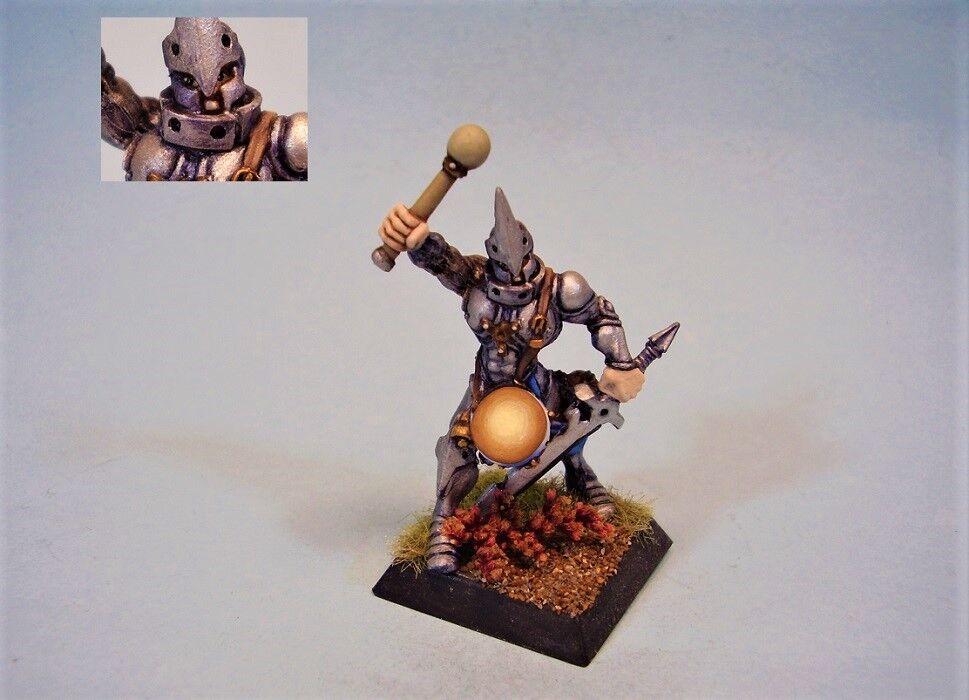 Konfrontation målat miniatyr Griffin Drummer Warrior