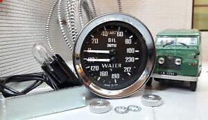 Smiths-Oldruckanzeige-Wassertemperatur-Doppel-233480-Land-Rover-Serie-1-2-2a